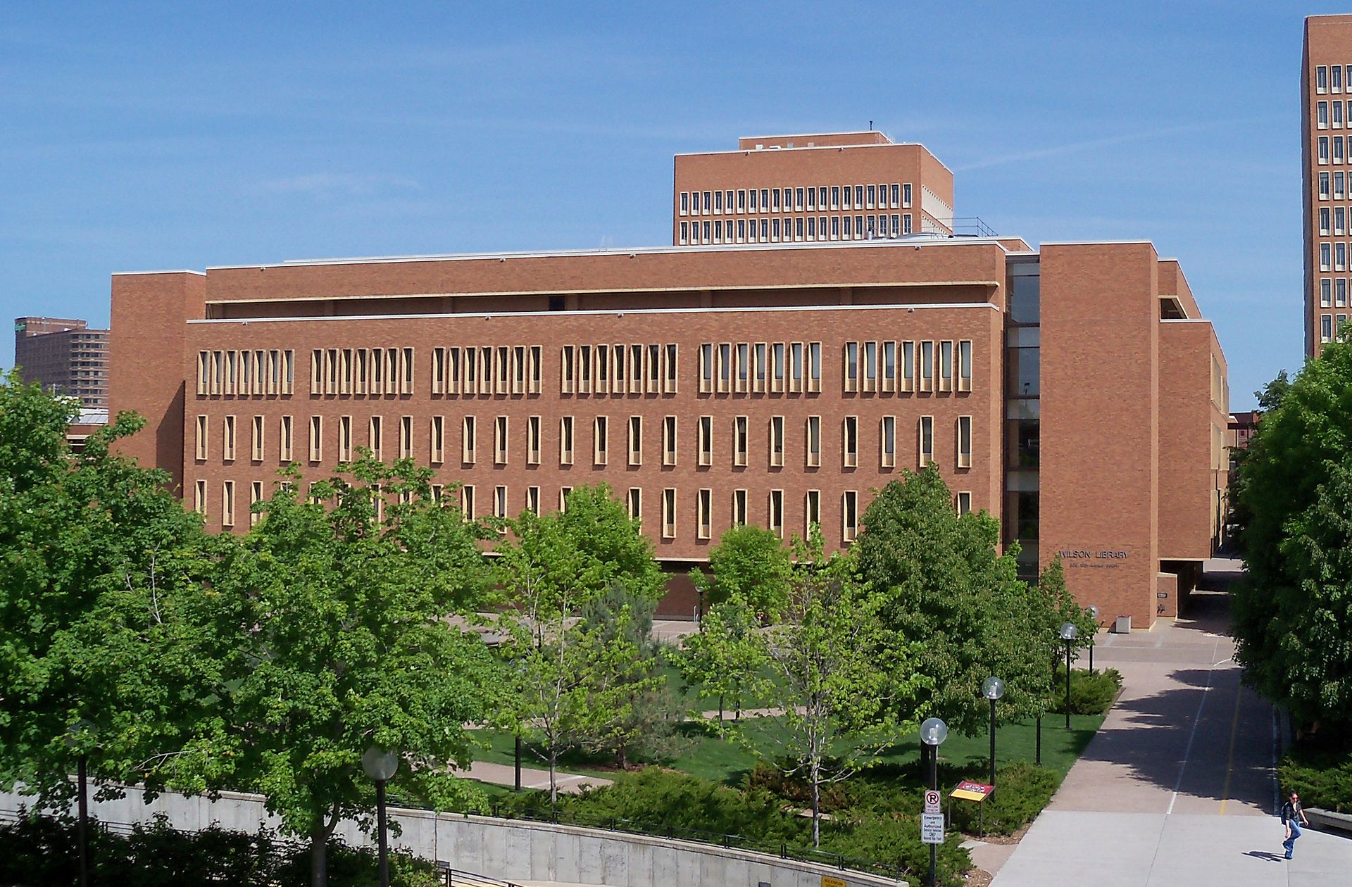 Wilson Library at University of Minnesota