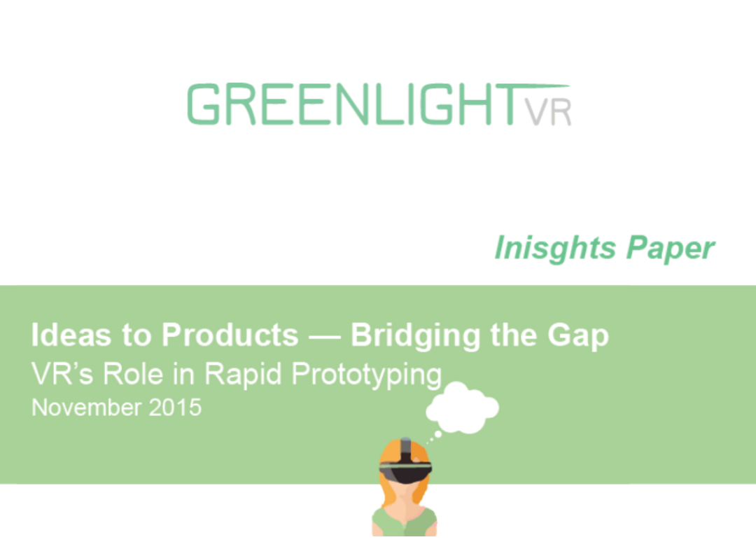 Greenlight VR_Insights Paper