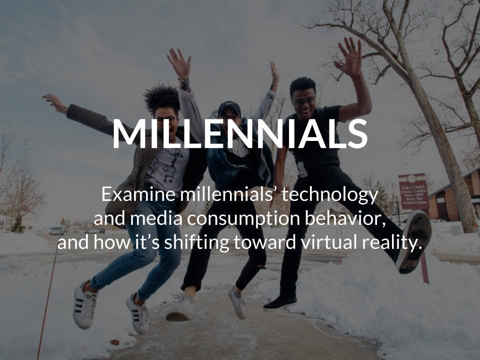 millennials vr