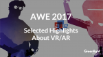 AWE 2016 Flash Note