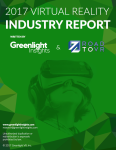 2017 VR Industry Report Coverpage