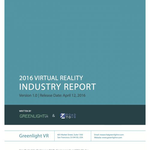 2016 VR Industry Report Spring