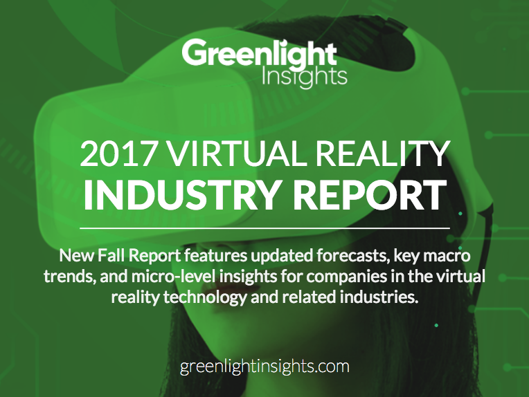New 2017 Virtual Reality Industry Report