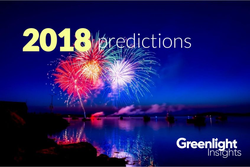 Greenlight Insights 2018 Predictions