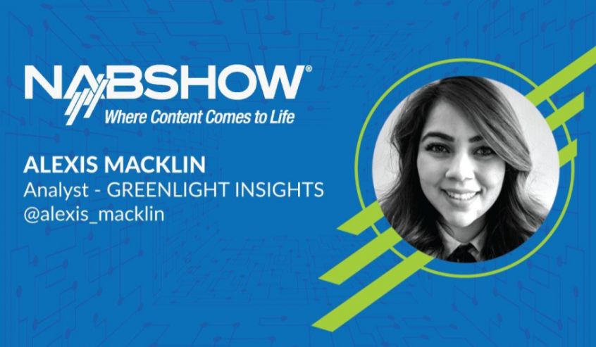 Greenlight Insights Presents Keynote at the NAB Show in Las Vegas