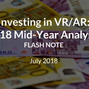 VR/AR Funding: 2018 Mid-Year Review
