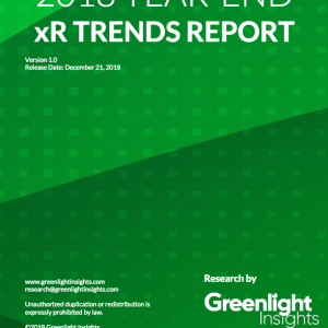 2018 Year-End xR Trends Report