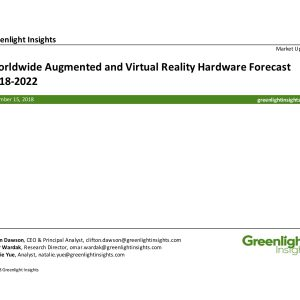 Worldwide Virtual & Augmented Reality HMD Forecast, 2018–2022