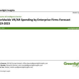 Forecast: Worldwide xR Spending by Enterprise Firms, 2019-2023