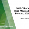 China VR/AR Head-Mounted Display Forecast, 2019-2023