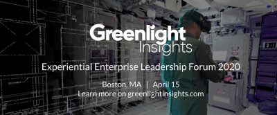 Greenlight Insights Experiential Enterprise Leadership Forum 2020
