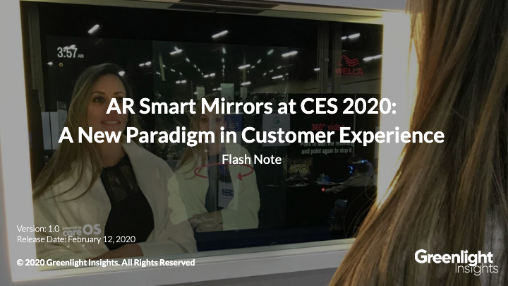 AR Smart Mirrors at CES 2020: A New Paradigm in Customer Experience