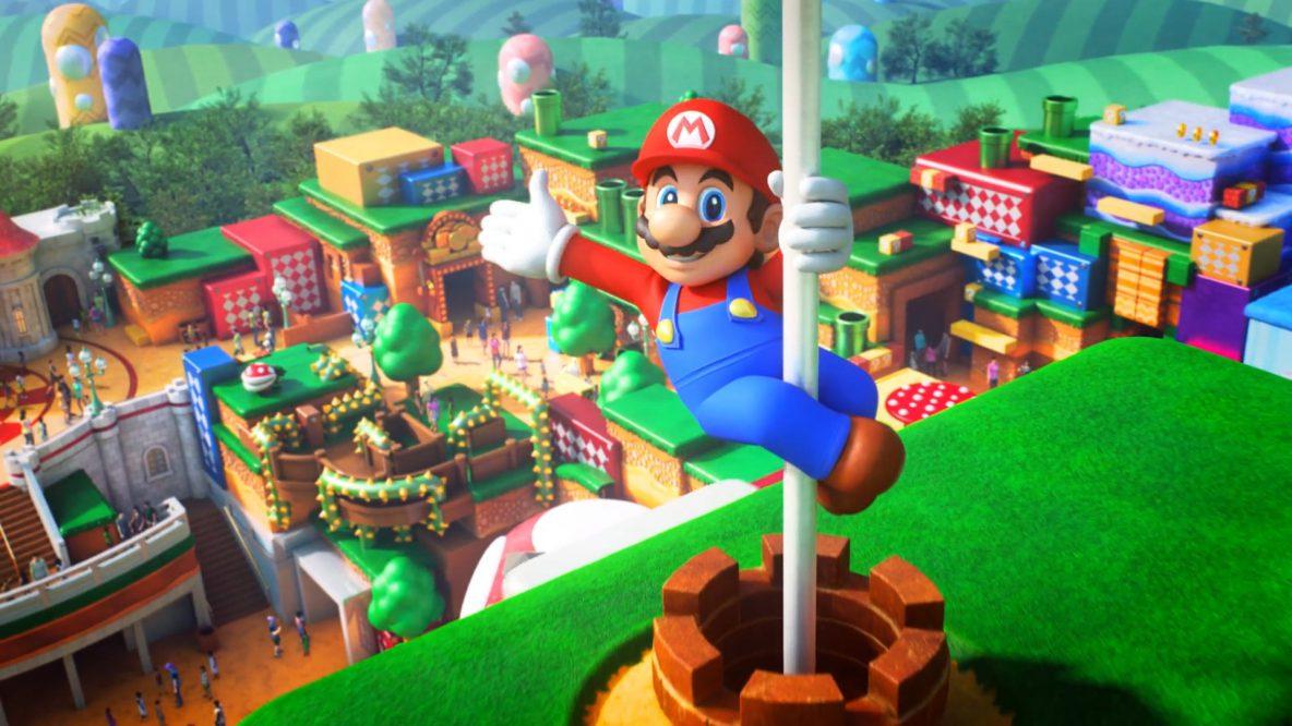 Image of Universal Studios Japan's Super Nintendo Land