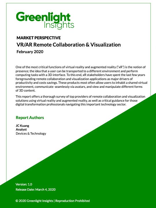 VR/AR Remote Collaboration & Visualization